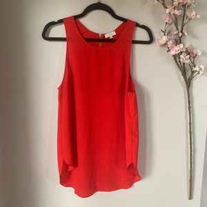 ARITZIA / WILFRED / RED TANK TOP
